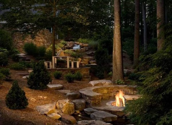 country landscape design - charlotte
