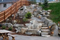 Entryways, Steps and Courtyard - Mead, WA - Photo Gallery ...