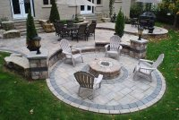 Fire Pit - Whitby, ON - Photo Gallery - Landscaping Network
