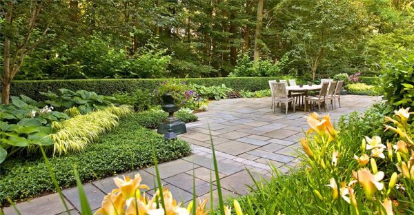 flagstone patio - pittstown nj