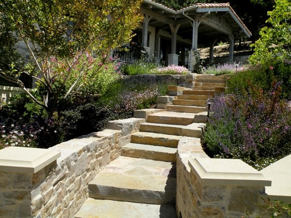 flagstone walkway - san francisco
