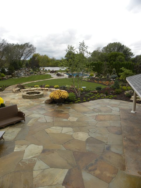 Flagstone  Valparaiso IN  Photo Gallery  Landscaping Network