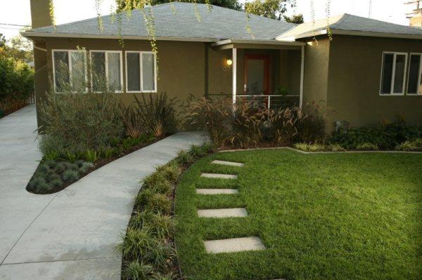 front yard landscaping - solvang