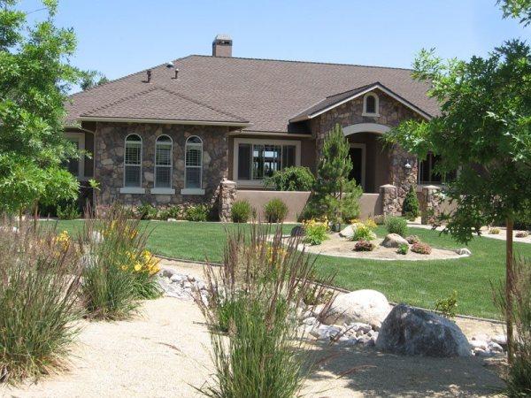 front yard landscaping - reno