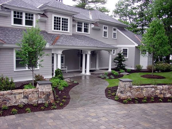 front yard landscaping - gilford