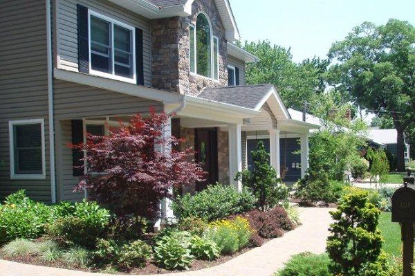 front yard landscaping - massapequa