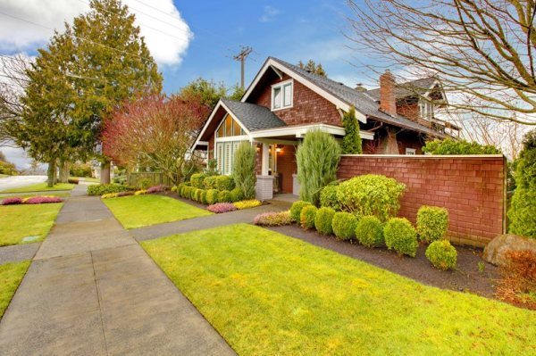 front yard landscaping - calimesa