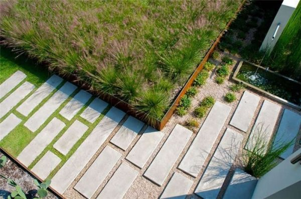 modern landscaping - dallas tx