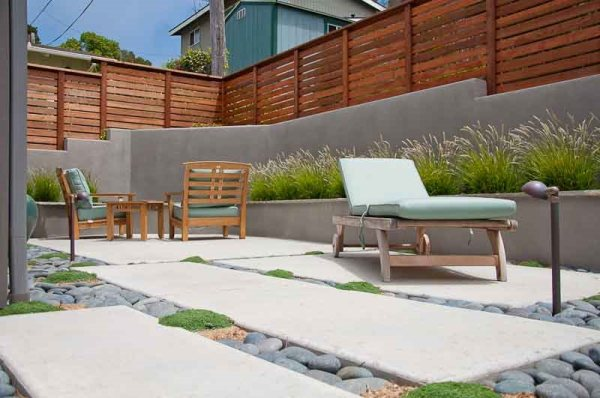 modern landscaping - cambria ca