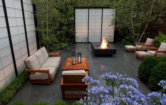 modern landscaping - chicago il