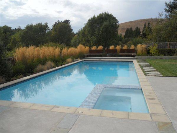 modern pool - walnut creek ca