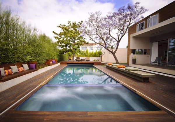 modern pool - venice ca