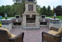 Outdoor Fireplace - Whitby, ON - Photo Gallery ...