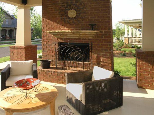 outdoor fireplace - calimesa ca