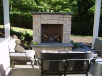 Outdoor Fireplace - Kirkland, WA - Photo Gallery ...