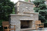 Outdoor Fireplace - Chicago, IL - Photo Gallery ...