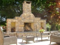 Outdoor Fireplace - Severn, MD - Photo Gallery ...
