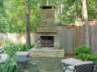 Outdoor Fireplace - Clinton, MS - Photo Gallery ...