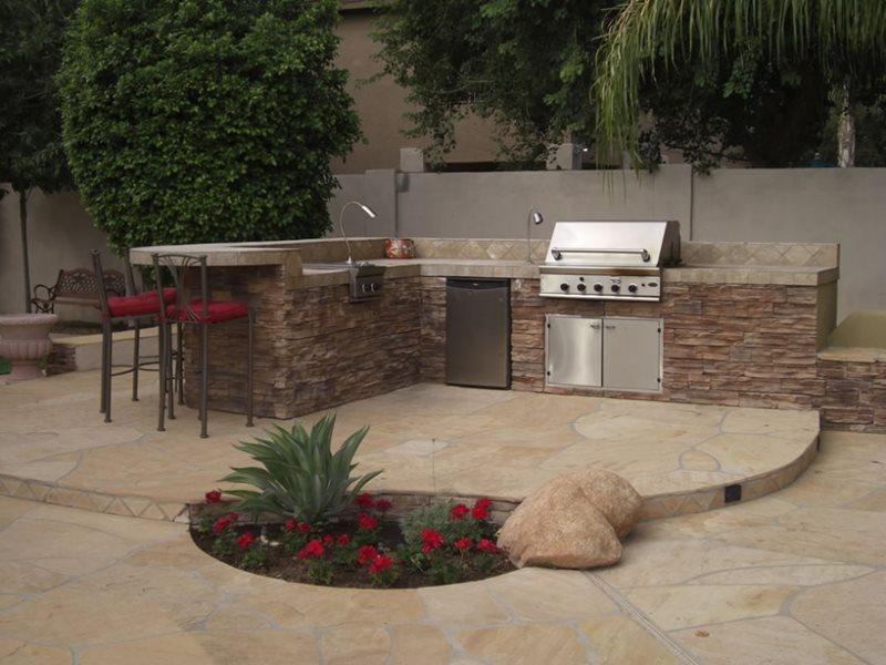 outdoor kitchen peoria az photo