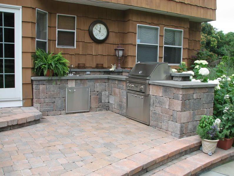 Outdoor Kitchen  Stony Brook NY  Photo Gallery  Landscaping Network