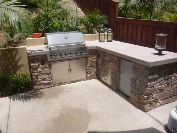 l shaped outdoor kitchen Outdoor Kitchen - San Marcos, CA - Photo Gallery - Landscaping Network