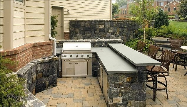 outdoor kitchen bar cabinet base sterling va photo gallery landscaping network counter surrounds landscape architecture construction