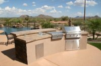 Outdoor Kitchen - Mesa, AZ - Photo Gallery - Landscaping ...