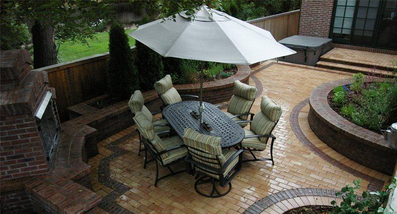 paver patio centennial co photo