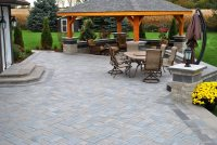 Paver Patio - Whitby, ON - Photo Gallery - Landscaping Network