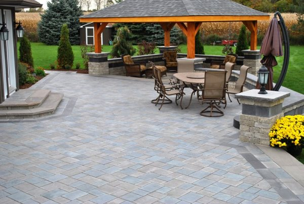 paver patio - whitby