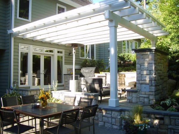 pergola and patio cover kirkland wa