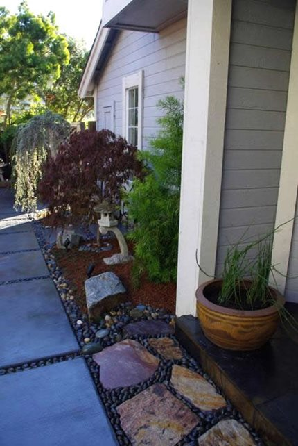 Side Yards Greenbrae CA Photo Gallery Landscaping