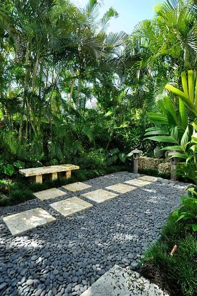 small yard landscaping - key west