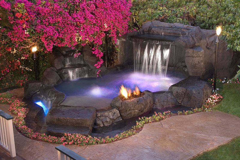 Spas  San Clemente CA  Photo Gallery  Landscaping Network