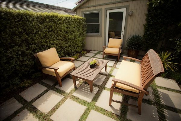 concrete patio - design ideas