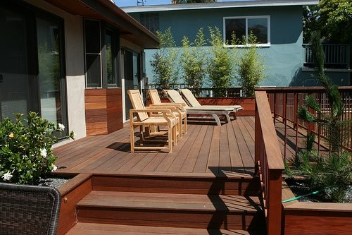 deck size & height - landscaping