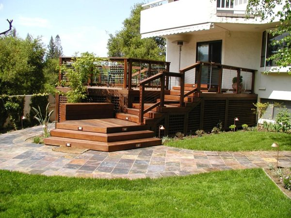 deck design and ideas backyards