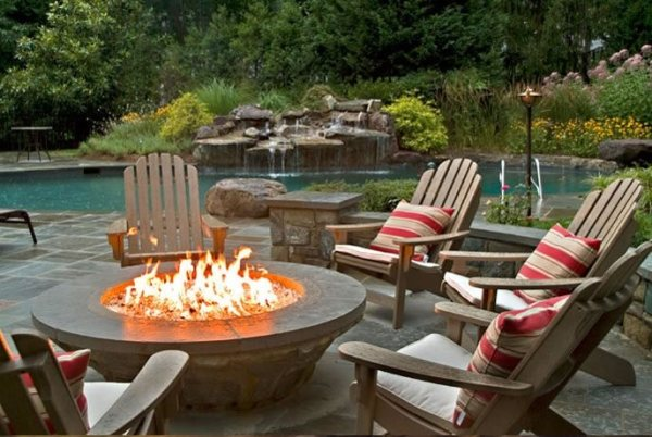 outdoor fire pit design ideas