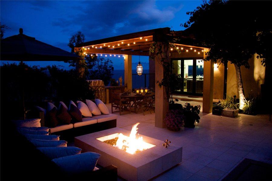 patio cover lighting ideas