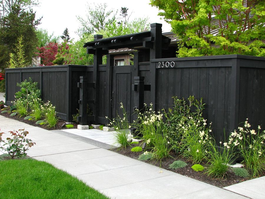 Front Yard Fence Ideas