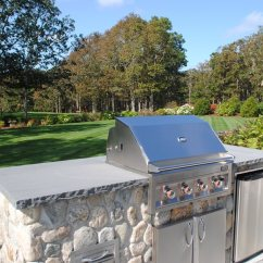 Outdoor Kitchens On A Budget Stainless Steel Top Kitchen Island Small Friendly Landscaping Network Massachusetts O Leary Harwich