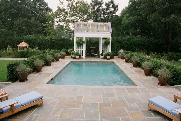 swimming pool materials - landscaping