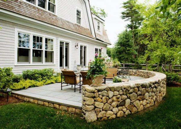 patio landscape ideas - landscaping
