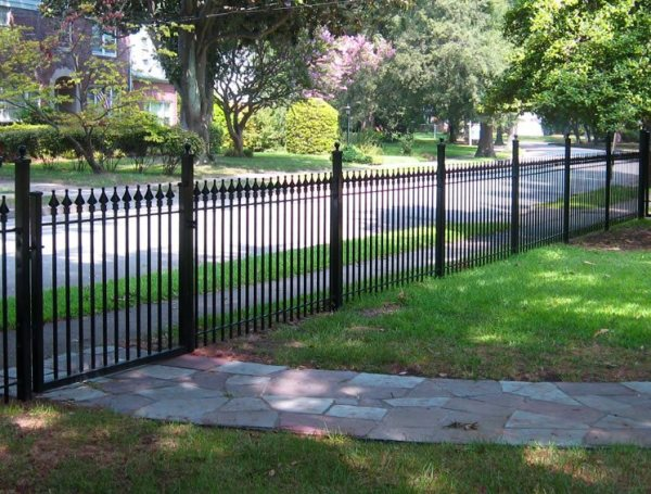front yard fence ideas - landscaping
