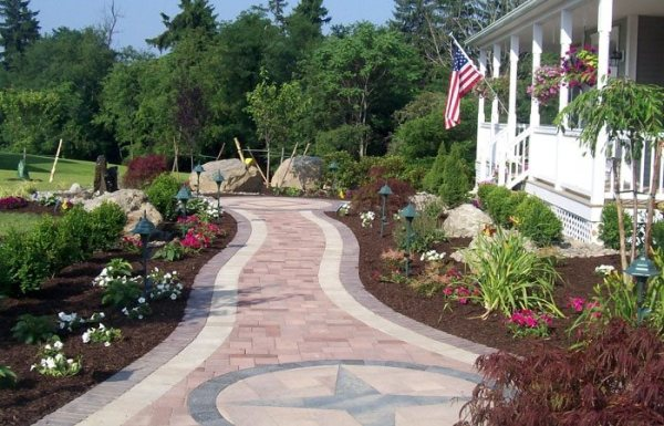 paver walkways - landscaping network