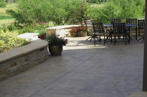 concrete patio - design ideas