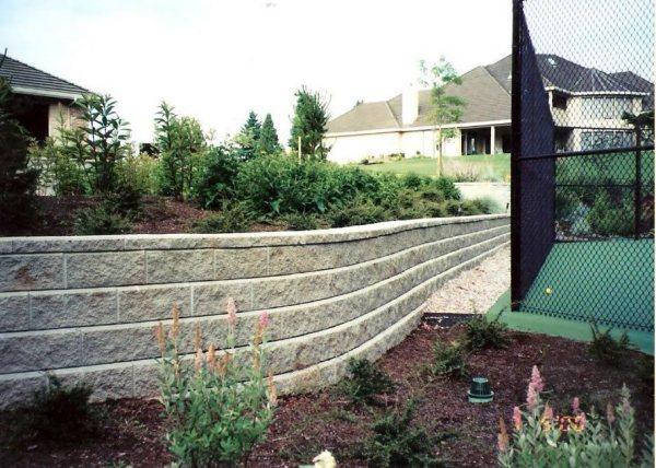 retaining wall design - landscaping