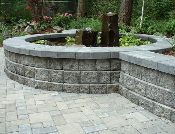 retaining wall blocks - landscaping