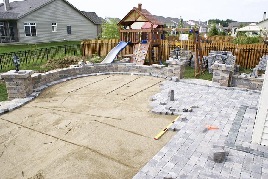 building a patio landscaping network