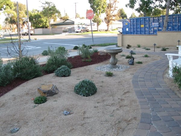 xeric irrigation - landscaping